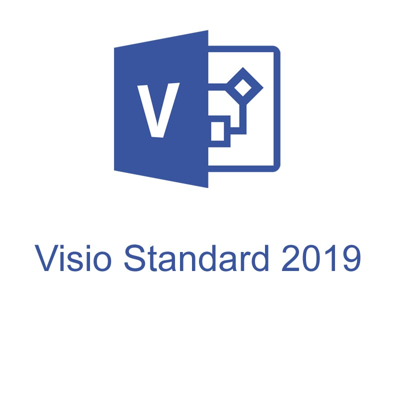 Программа  Microsoft Visio Standard 2019